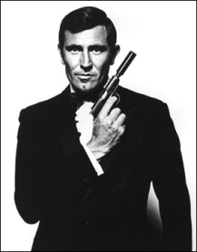 james bond george
