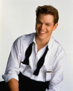 Matt Damon jong