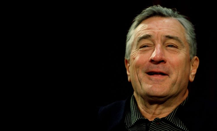 "US actor Robert De Niro talks with the audience after a screening of ""A Bronx Tale"" to celebrate the film's aproaching 15th anniversary in September on May 3, 2008 in New York. ""A Bronx Tale"" was written by fellow actor Chazz Palminteri and marked De Niro's directorial debut. AFP PHOTO/Don EMMERT (Photo credit should read DON EMMERT/AFP/Getty Images)"